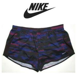 Nike Black Purple Running Shorts